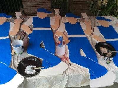 start paint men